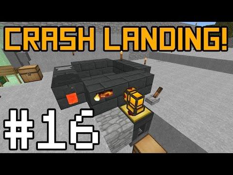 Minecraft Crash Landing - Invar Alloying! #16