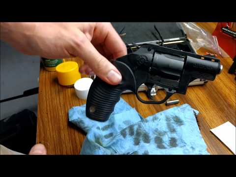 How To/DIY: Cleaning the Taurus P85 Poly .38 Special +P