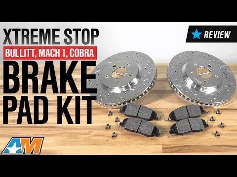 1994-2004 Mustang Bullitt, Mach 1, Cobra Xtreme Stop Precision Cross-Drilled & Slotted Rotors Review