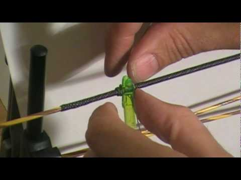 How to Tie a Nock Set on a Bowstring