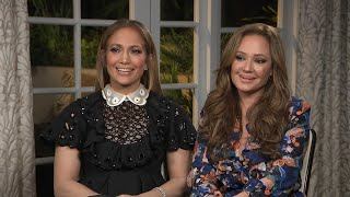 Leah Remini Surprised Jennifer Lopez by Slapping Her in 'Second Act' (Exclusive)