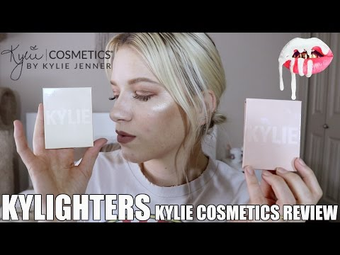 KYLIGHTER REVIEW & DEMO | KYLIE COSMETICS KYLIGHTERS FRENCH