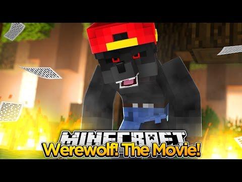 Minecraft Adventure - THE WEREWOLF MOVIE!!