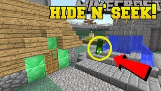 Minecraft: CRAZY SQUIDS HIDE AND SEEK!! - Morph Hide And Seek - Modded Mini-Game