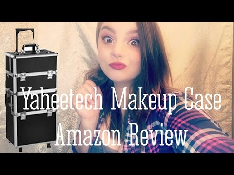 Yaheetech Makeup Trolley Case | Amazon Product Review