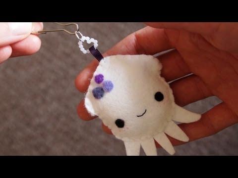 How to Make a Kawaii Squid Plushie
