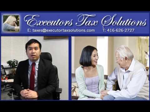 Executor tax solutions.com | Clearance Certificate, Legal Representative, 416-626-2727 (c)