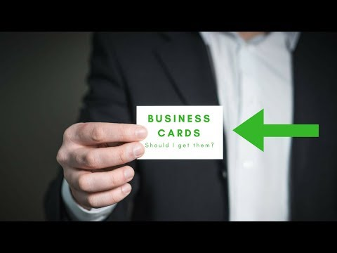 Should you get Business Cards?