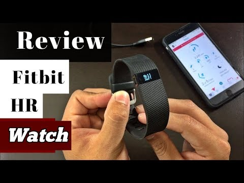 Fitbit Charge HR- Big Review [2018]