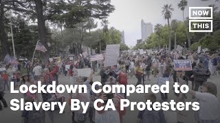 Protesters and Beachgoers Defy California's Stay-at-Home Orders | NowThis