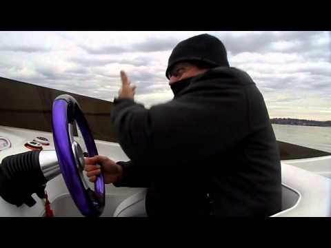 Boating action on Lake Washington in early November!