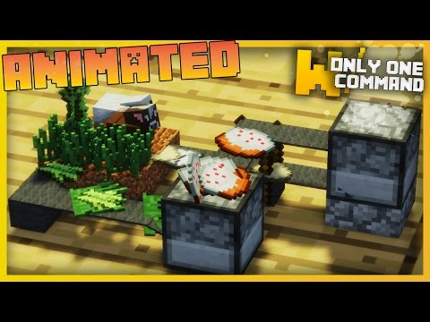 Smallest Minecraft CAKE FACTORY Ever with Only 3 Command Blocks [Happy Birthday Red!]