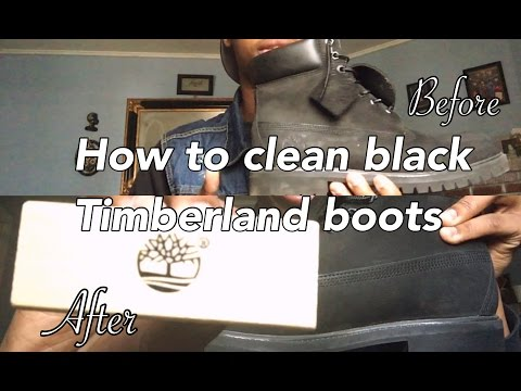 How To Properly Clean Black Timberland Boots