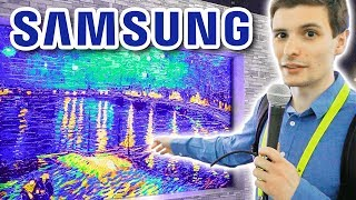 Samsung Booth - The Great, The Good, the Dumb (CES 2018)