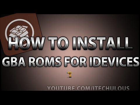 How to install GBA Emulators/Roms for iPhone, iPod & iPad using gpSPhone  - iOS 6 - Free