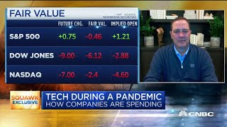 Cisco CEO Chuck Robbins on operating a tech company during a pandemic