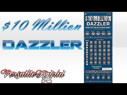 $30 $10 Million Dazzler #1 (BIG WIN) NEW Win up to $10,000,000! CALottery Ticket Scratchers