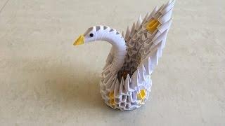 3D Origami Heart Pattern Swan   Etsy   180x320
