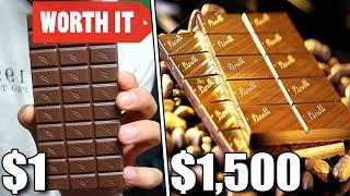 $1 Chocolate Vs $1500 Chocolate
