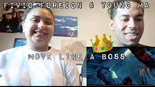 Fivio Foreign, Young M.A - Move Like A Boss (Reaction)