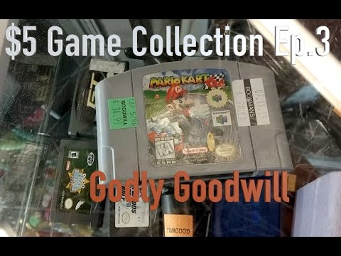 The $5 Video Game Collection (Ep.3): Godly Goodwill
