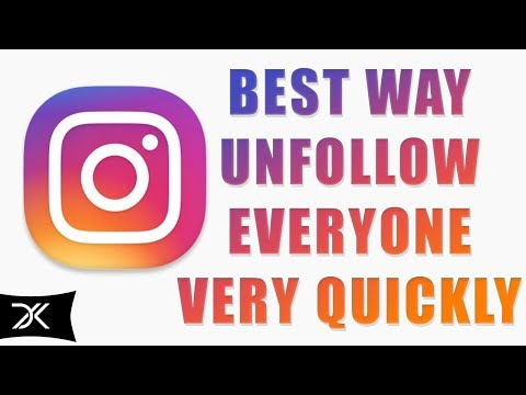 How To Unfollow Everyone On Instagram At Once,  Unfollow That Is Not Following You IN 2017