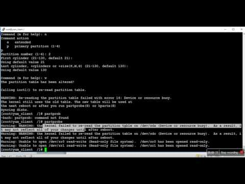 Resize filesystem without loss data in redhat linux