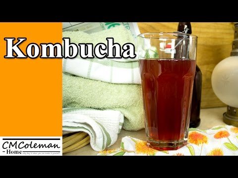 How To Make Kombucha Tea -  Pomegranate  Flavor