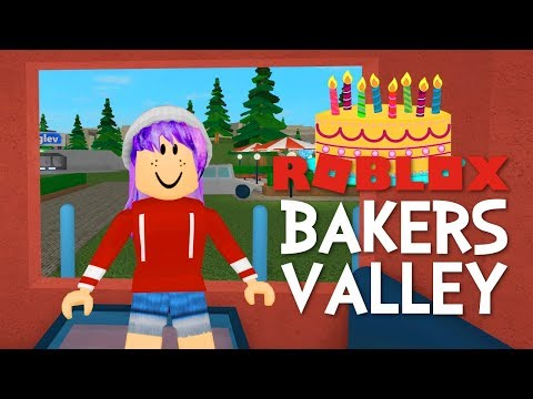 ROBLOX BAKERS VALLEY | MY NEW HOUSE! | RADIOJH GAMES