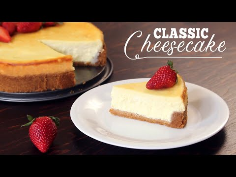 Classic Cheesecake Recipe | How Tasty Channel