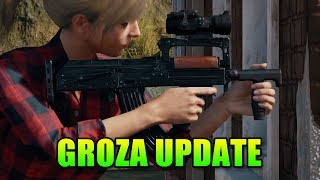 Epic Update for Battlegrounds! - Vaulting, Weather, Groza & More