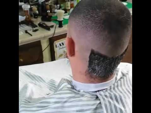 Getting a military fade