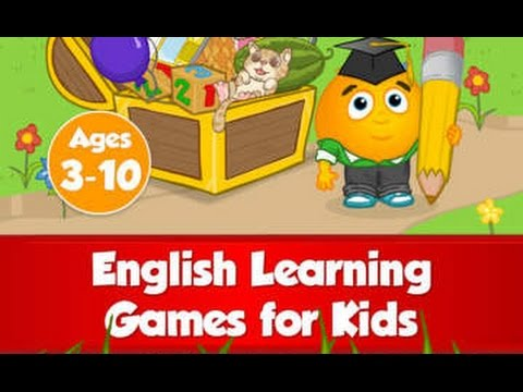 Fun English: Language learning games for kids ages 3-10 to learn to read, speak & spell