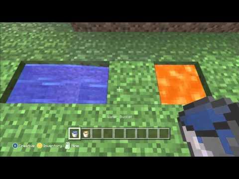 How to make a cobblestone generator minecraft xbox 360 or PC