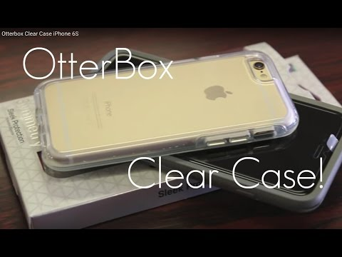 The Best CLEAR CASE for iPhone? - Otterbox Symmetry Clear Case iPhone 6S / 6 - Demo & Review
