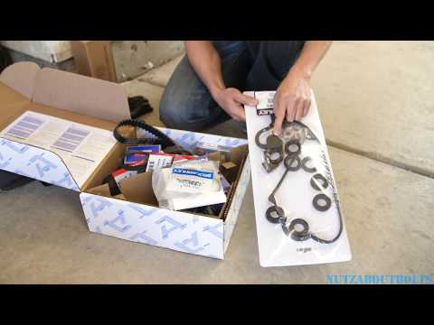 2001-2005 Honda Civic Timing belt replacement part 1