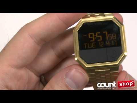 Nixon RE-RUN A158 All Gold - review by DiscountShop.com