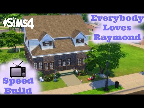 The Sims 4 - TV Speed Build - Everybody Loves Raymond House