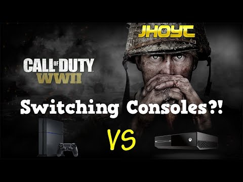 Switching Consoles?! | COD WWII Ranked Gameplay