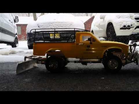 Rc Snow Plow