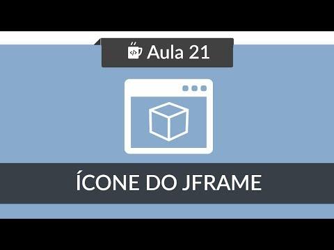 Interface Gráfica Java no Netbeans - Aula #21 - Ícone em JFrame