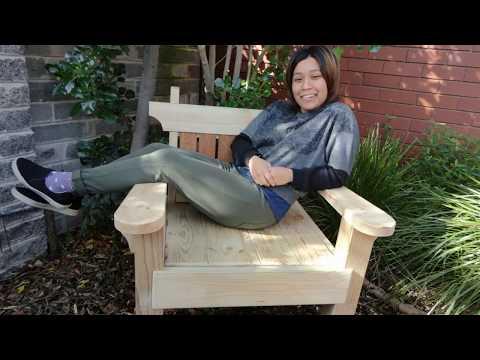 Jess builds a garden chair - her first build
