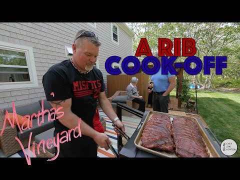 Barbecue Ribs Recipe - How To Make BBQ Baby Back ribs - barbecue grill