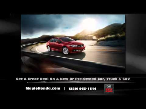 Vaughan Ontario Honda Dealer - Maple Honda