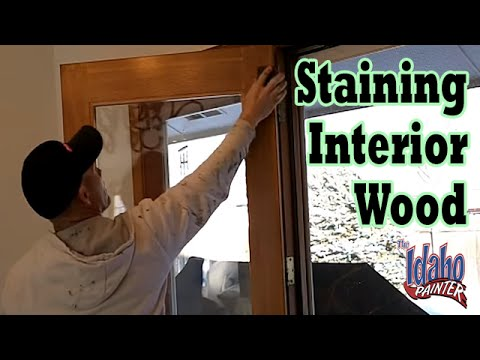 Staining & Re-lacquering Interior Woodwork.  Using Wood Stains.