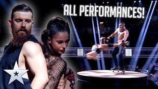 Billy & Emily England - ALL PERFORMANCES   Britain's Got Talent