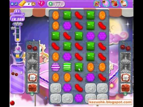 Candy Crush Saga Dreamworld Level 181 (3 star, No boosters)