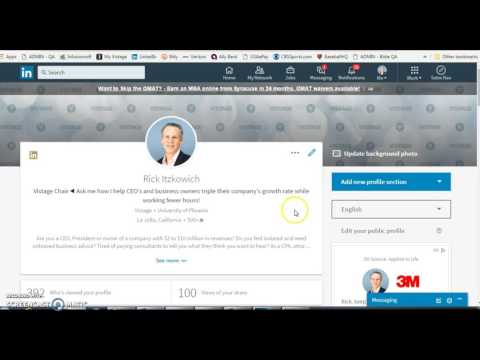 How to Change the Position Order on Your LinkedIn Profile