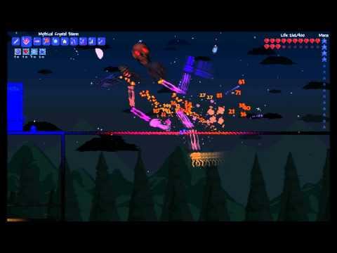 How to easily kill any Hard mode boss in Terraria!