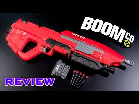 [REVIEW] BoomCo Halo Assault Rifle | UNSC MA5 Blaster